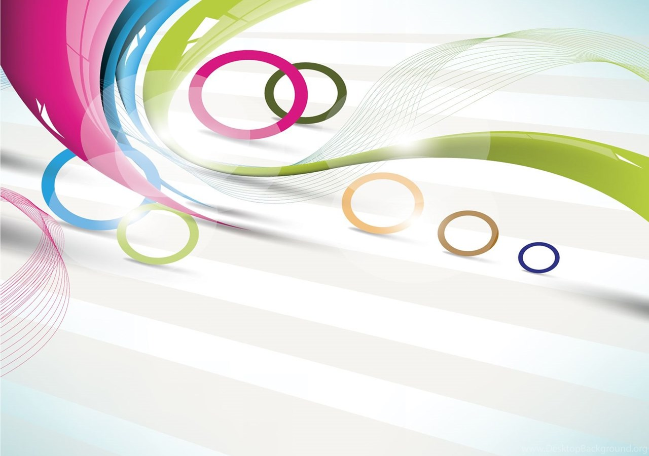 Circle and line in colors powerpoint templates abstract beauty popular alramifo Images