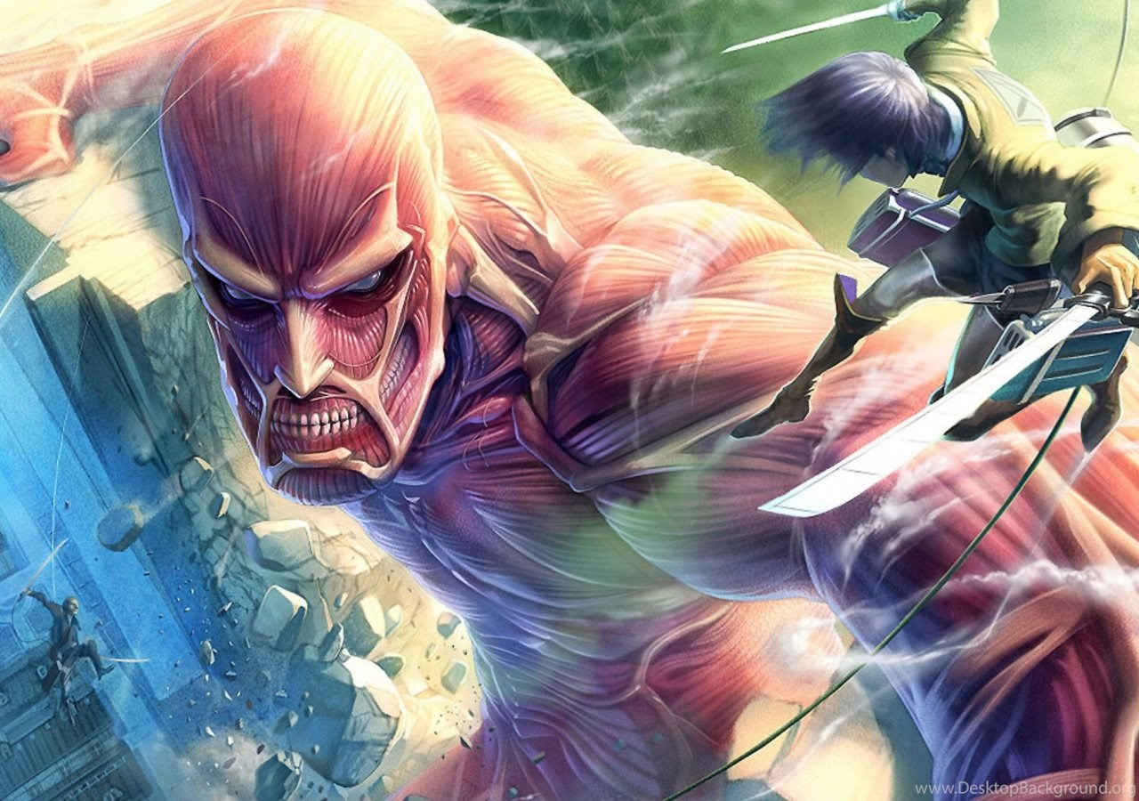 Attack On Titan Wallpapers 1600 X 900 Hd Desktop Background