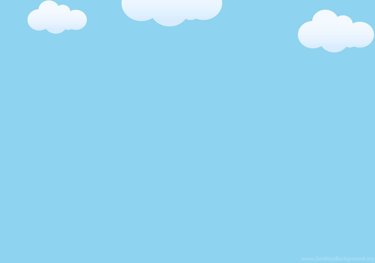 powerpoint templates ppt background  clouds on blue sky