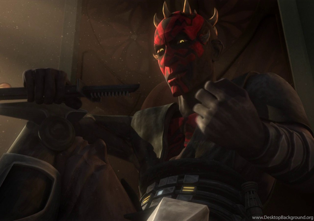 Wallpapers Snow Throne Star Wars Darth Maul The Clone 1920x1080