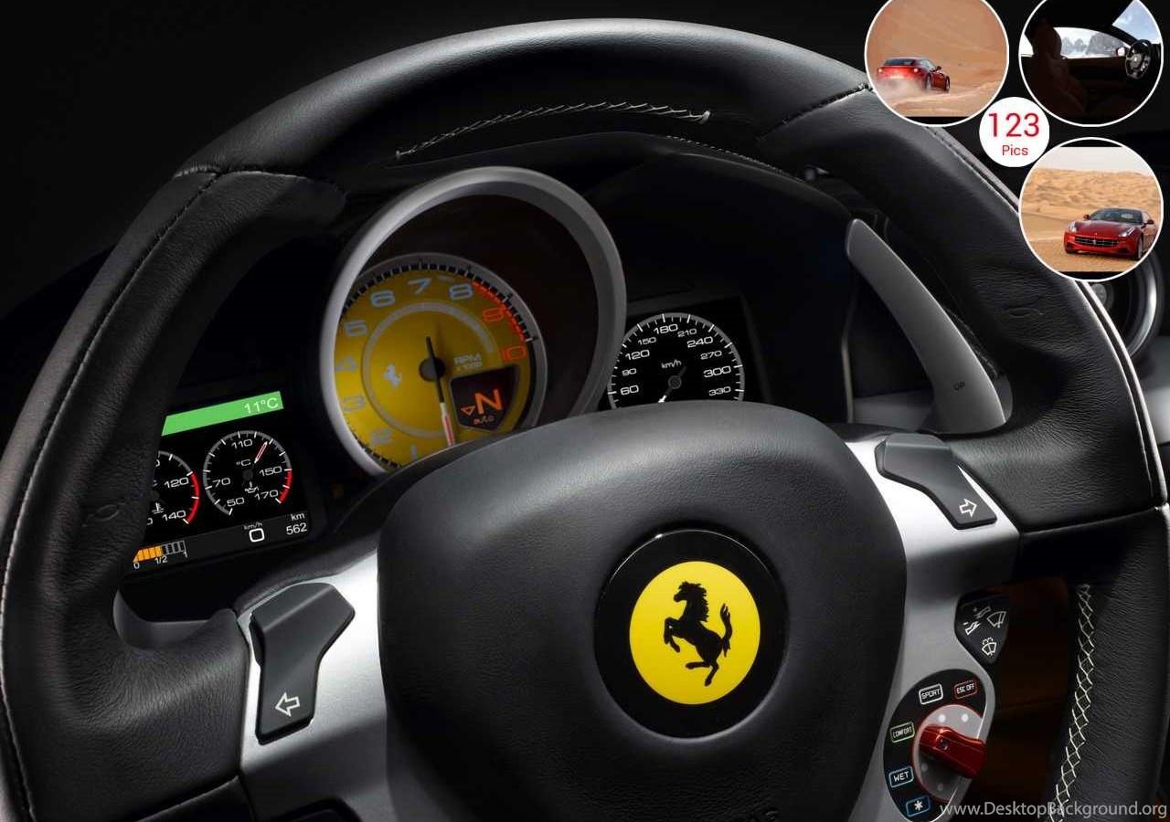 Ferrari Ff Interior Desktop Background