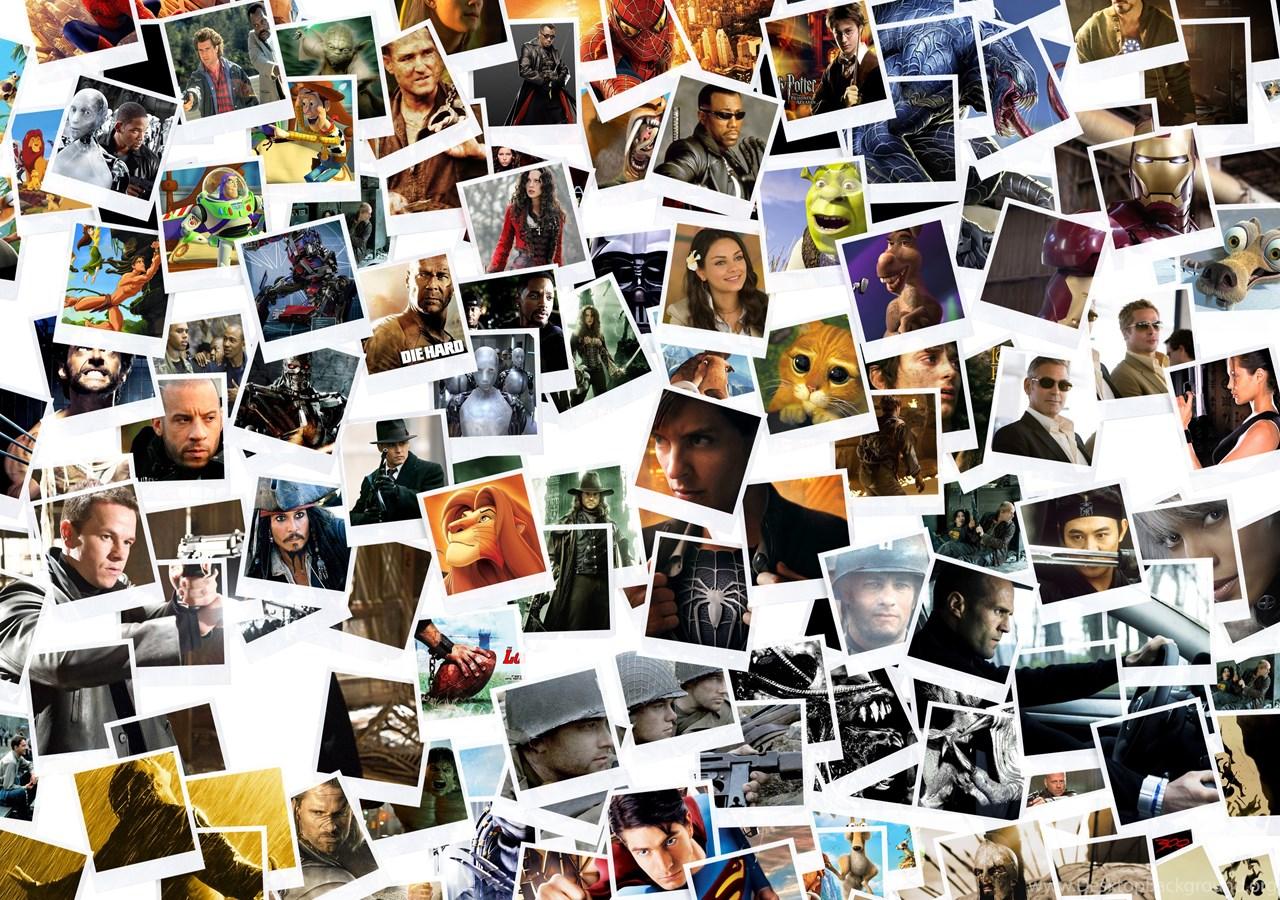 Коллаж из картинок на компьютере
