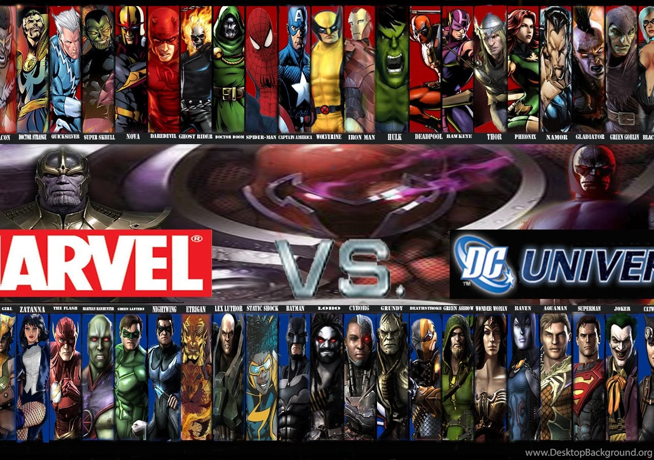 MARVEL Vs DC Gen  Discussion Comic Vine Desktop Background
