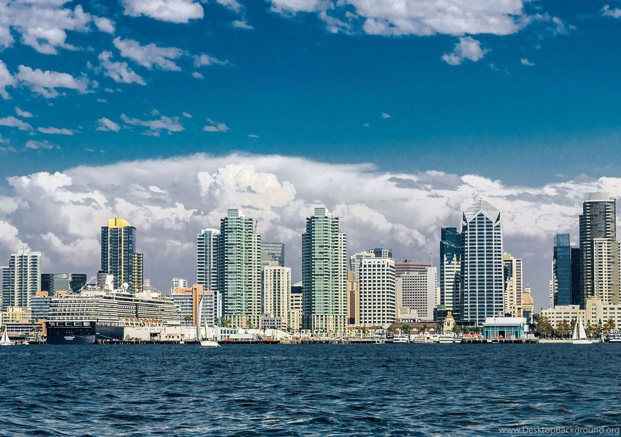 New San Diego Skyline Wallpapers For Iphone Desktop Background