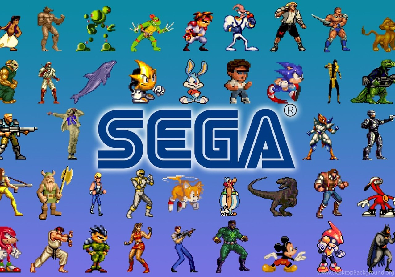Retro Gaming Wallpaper High Resolution: Classic Video Game Characters Wallpapers