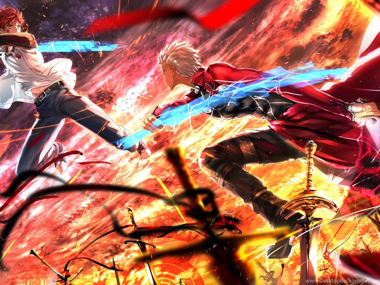 44 Fate Stay Night Unlimited Blade Works Hd Wallpapers