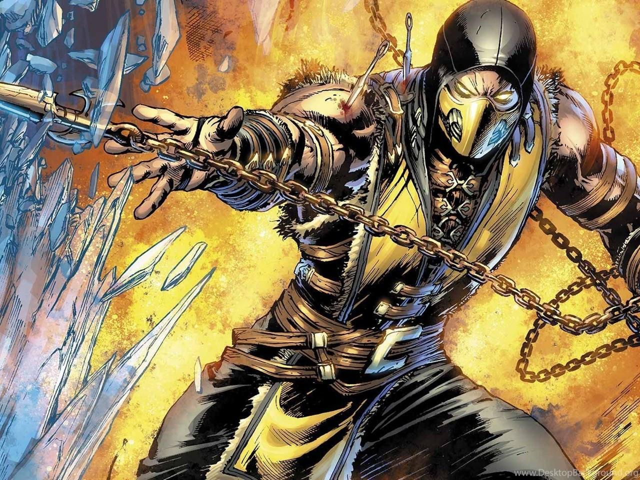 Mortal Kombat Scorpion Wallpapers For Android Desktop Background