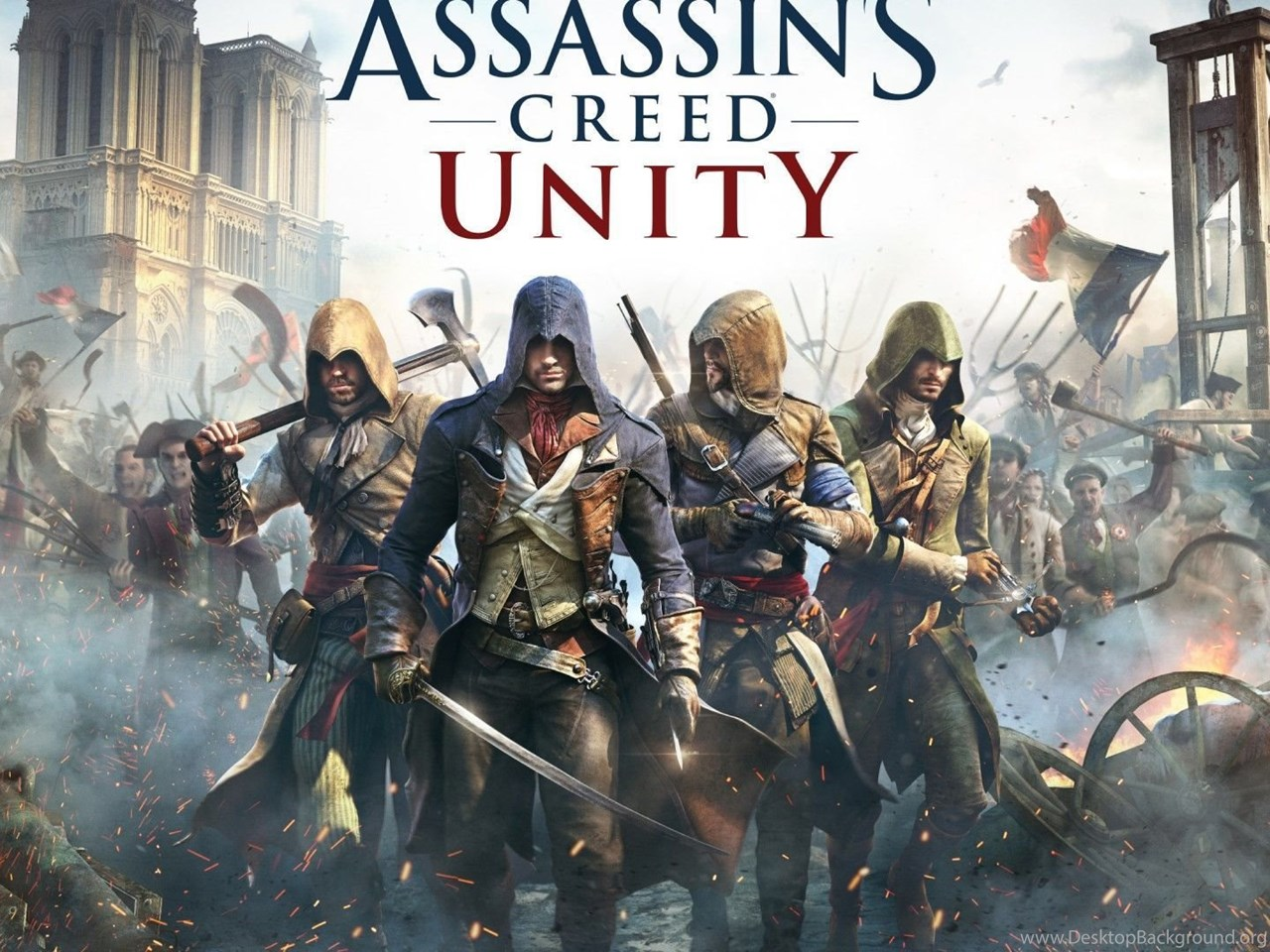Assassin S Creed Unity Wallpapers Desktop Background Images, Photos, Reviews