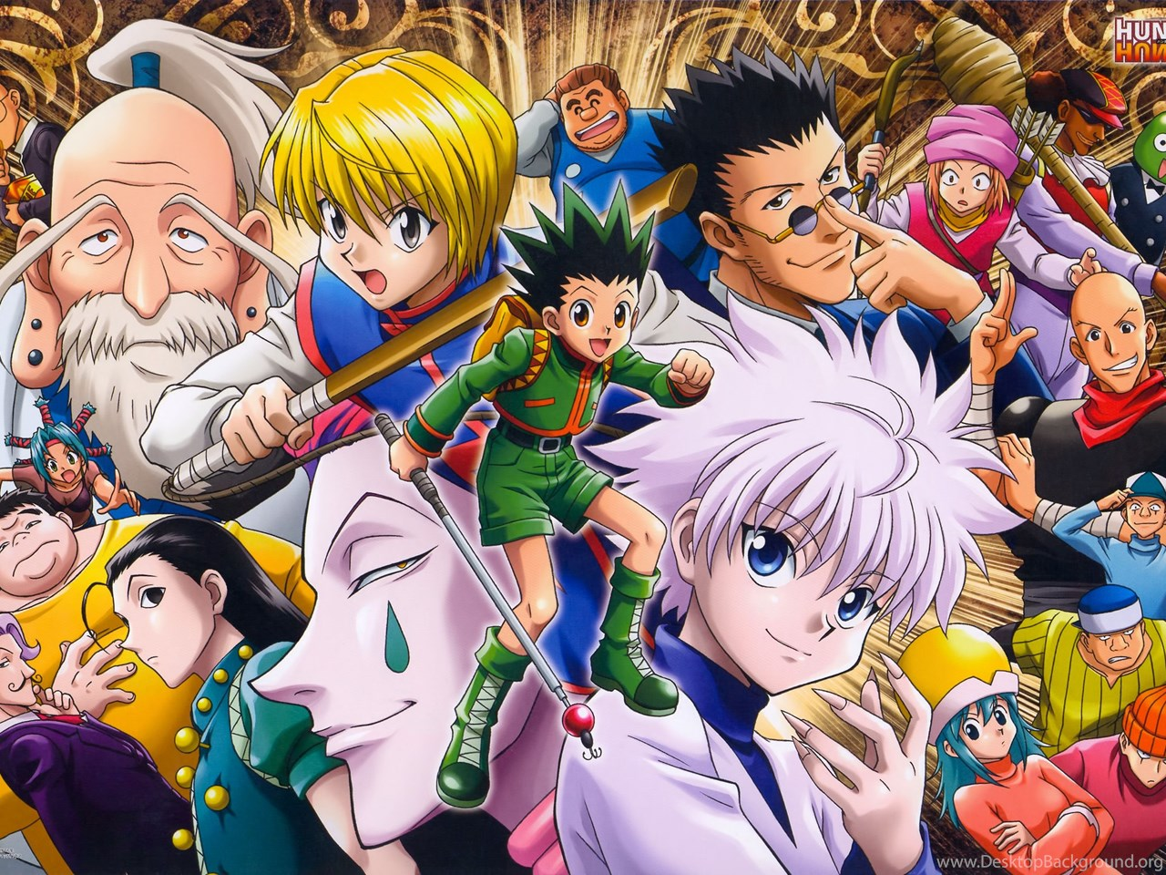 Hunter X Hunter Anime HD Wallpapers Desktop Background