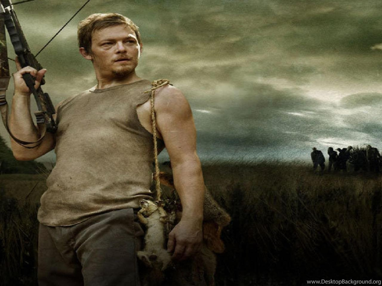 Daryl The Walking Dead Wallpapers Desktop Background