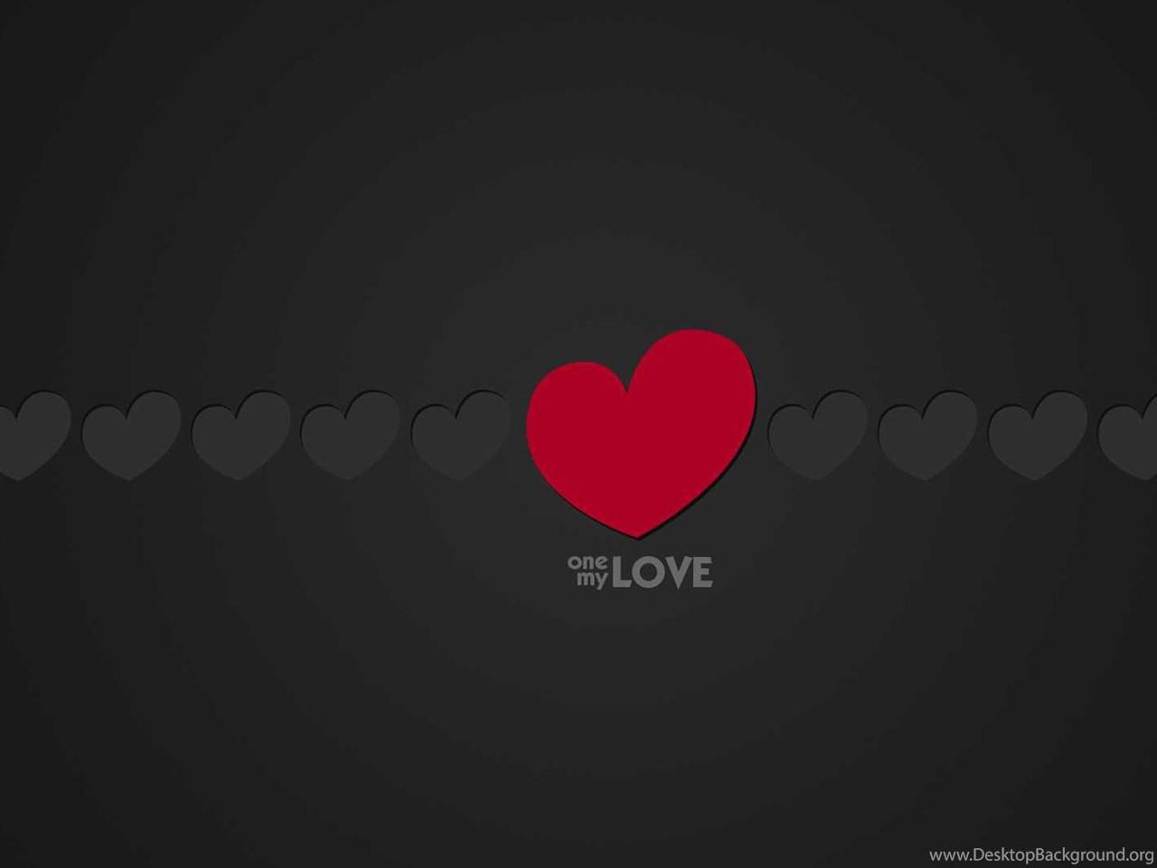 Black And Red Heart Wallpapers 02 Hd Desktop Wallpapers Desktop Background