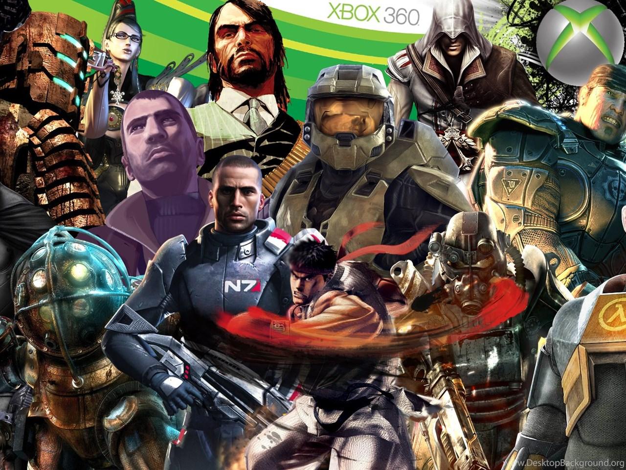 Xbox 360 Gamer Wallpapers Desktop Background