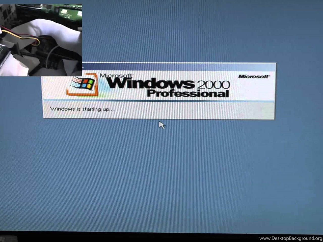 Intel 486 DX/2 66Mhz Running Windows 2000 Professional YouTube