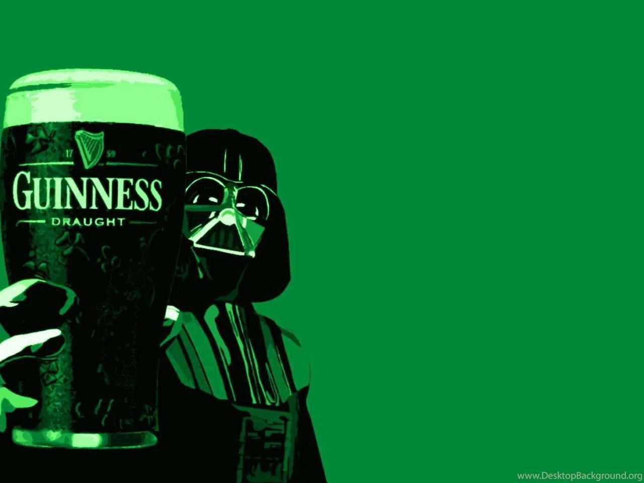 Bro Code Beer Hd Wallpaper: Beer Guinness Darth Vader Wallpapers ( Desktop Background