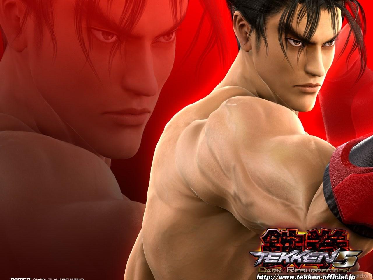 Jin Kazama Free Tekken 5 Dark Resurrection Wallpapers Gallery