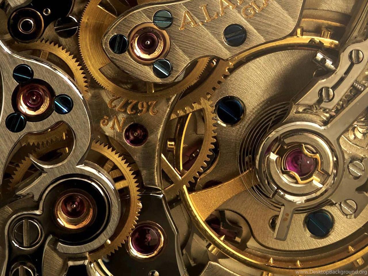 Mechanical gears wallpaper hd