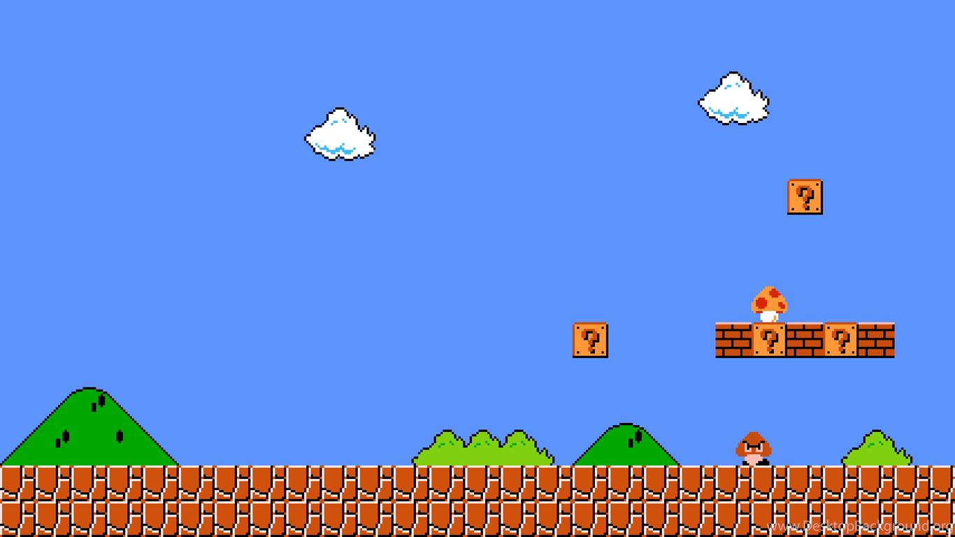 Mario Desktop Backgrounds: Super Mario Wallpapers Desktop Background