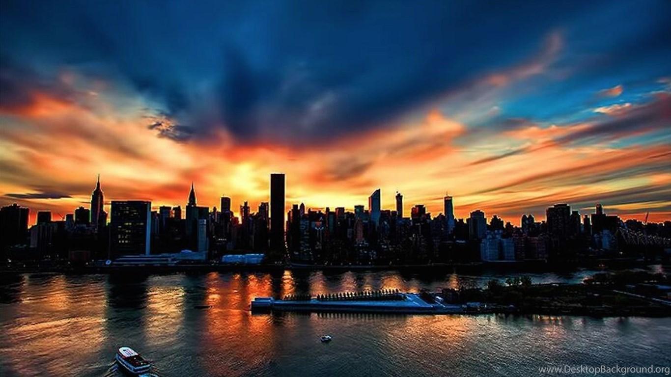 10924 new york city sunset windows 8