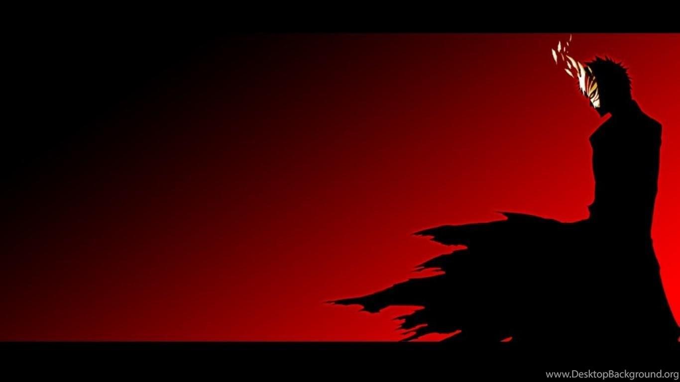 Abstract Art Red Sky Desktop Hd Artworks Desktop: Bleach Ichigo Abstract Art Red And Black HD Wallpapers
