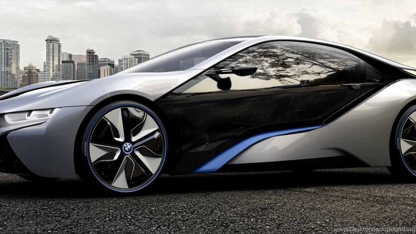 Download Wallpapers 2560x1024 Bmw I8 Concept Car Dark Dual