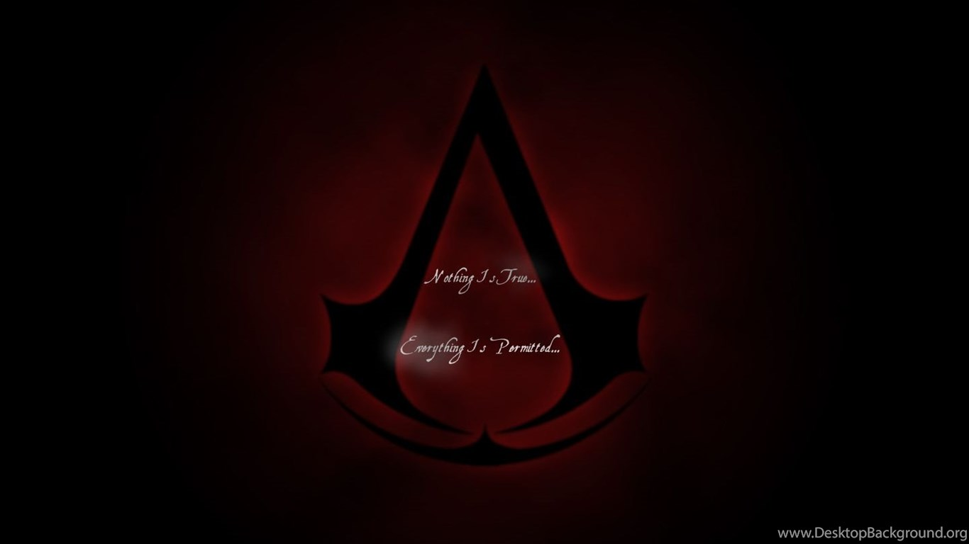 Assassins Creed Logo By Shinkent On Deviantart Desktop Background