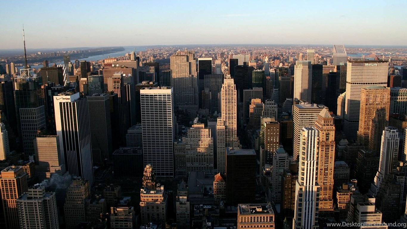 Manhattan New York City Skyline Wallpapers Hd 1080p For Desktop Desktop Background