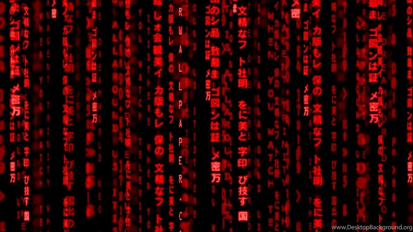 Red Hd Wallpapers Tags Code Red Matrix Description Red ...