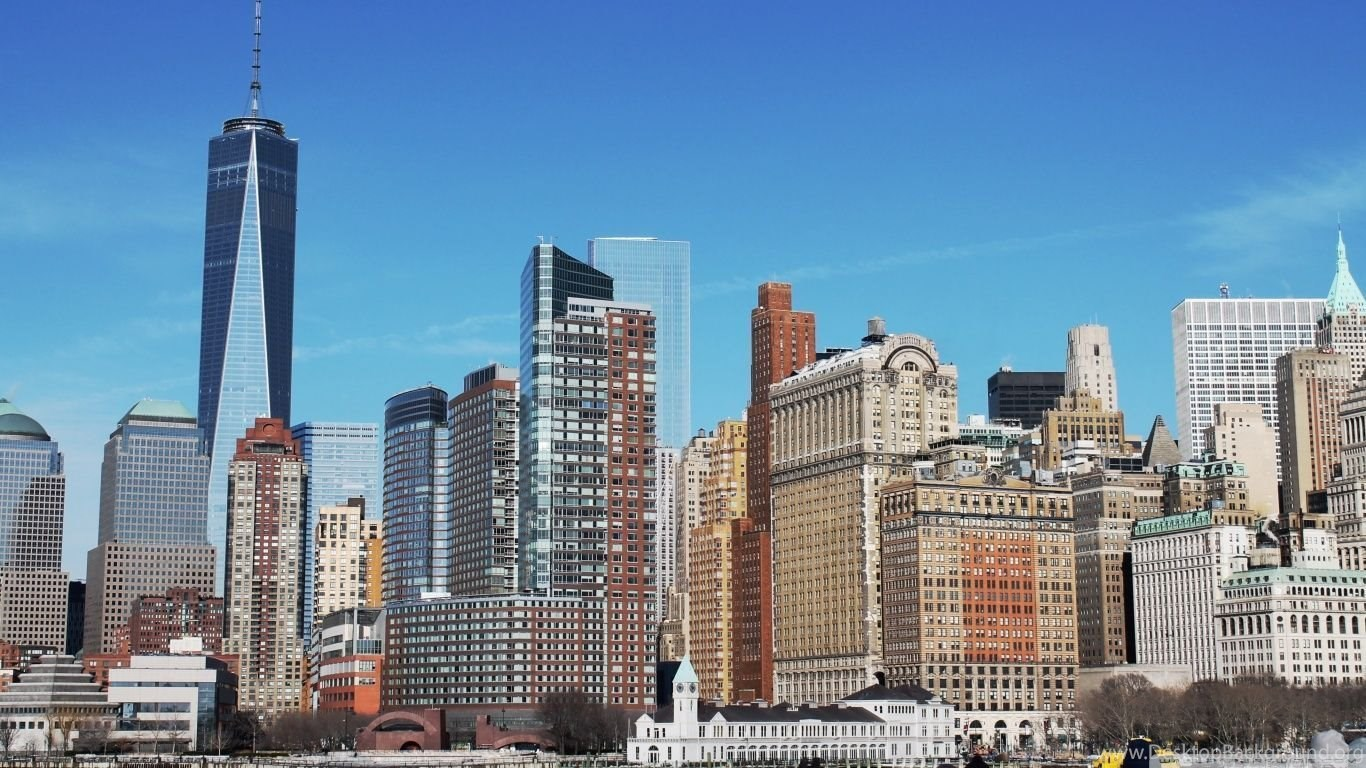 Skyline new york city 2015 hd desktop wallpapers - New york skyline computer wallpaper ...