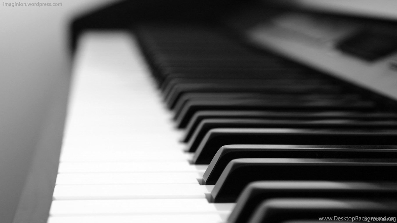 Black And White Piano Wallpapers Desktop Background