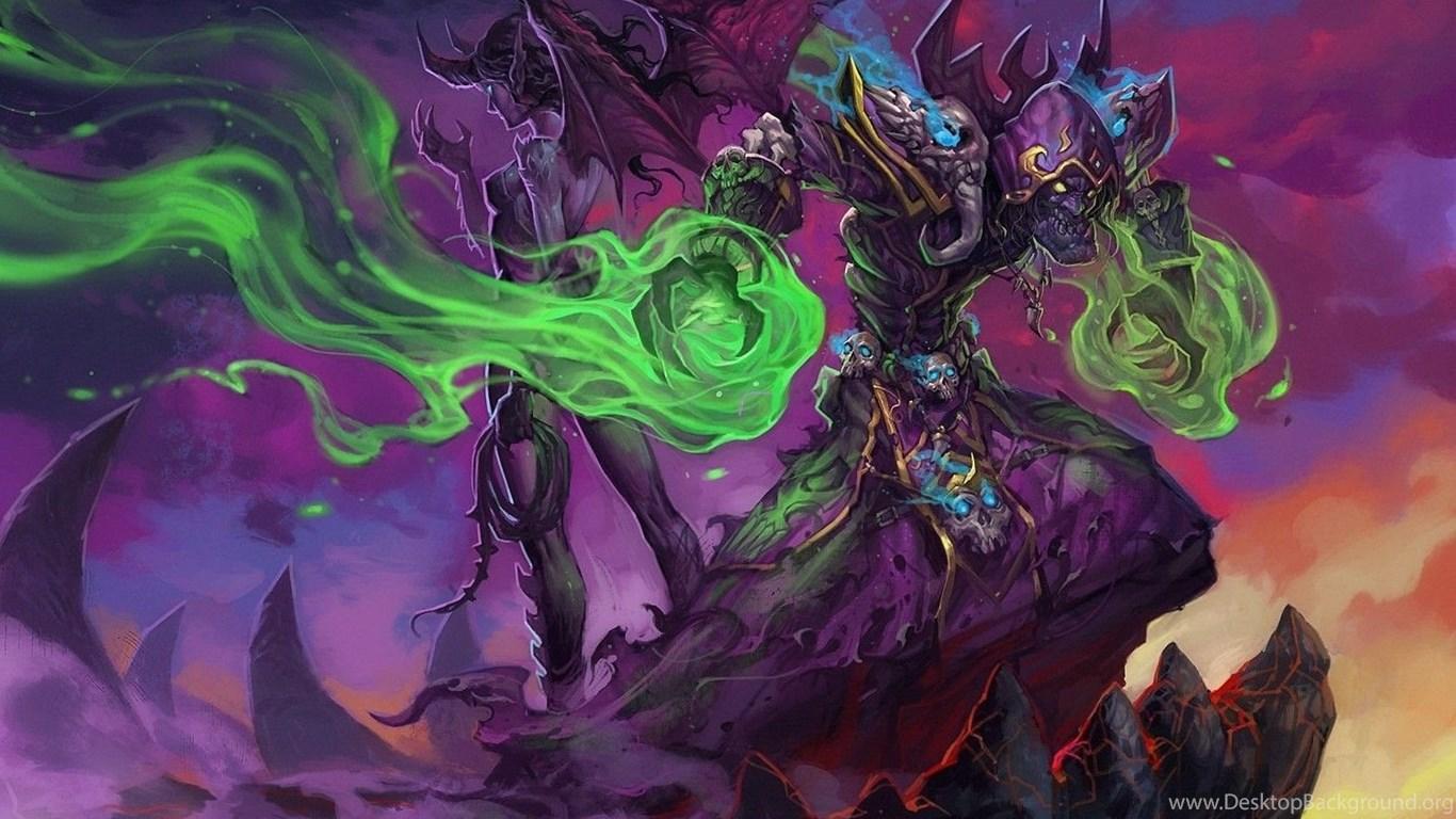 World Of Warcraft Blizzard Entertainment Warlock Game Wallpapers Desktop Background