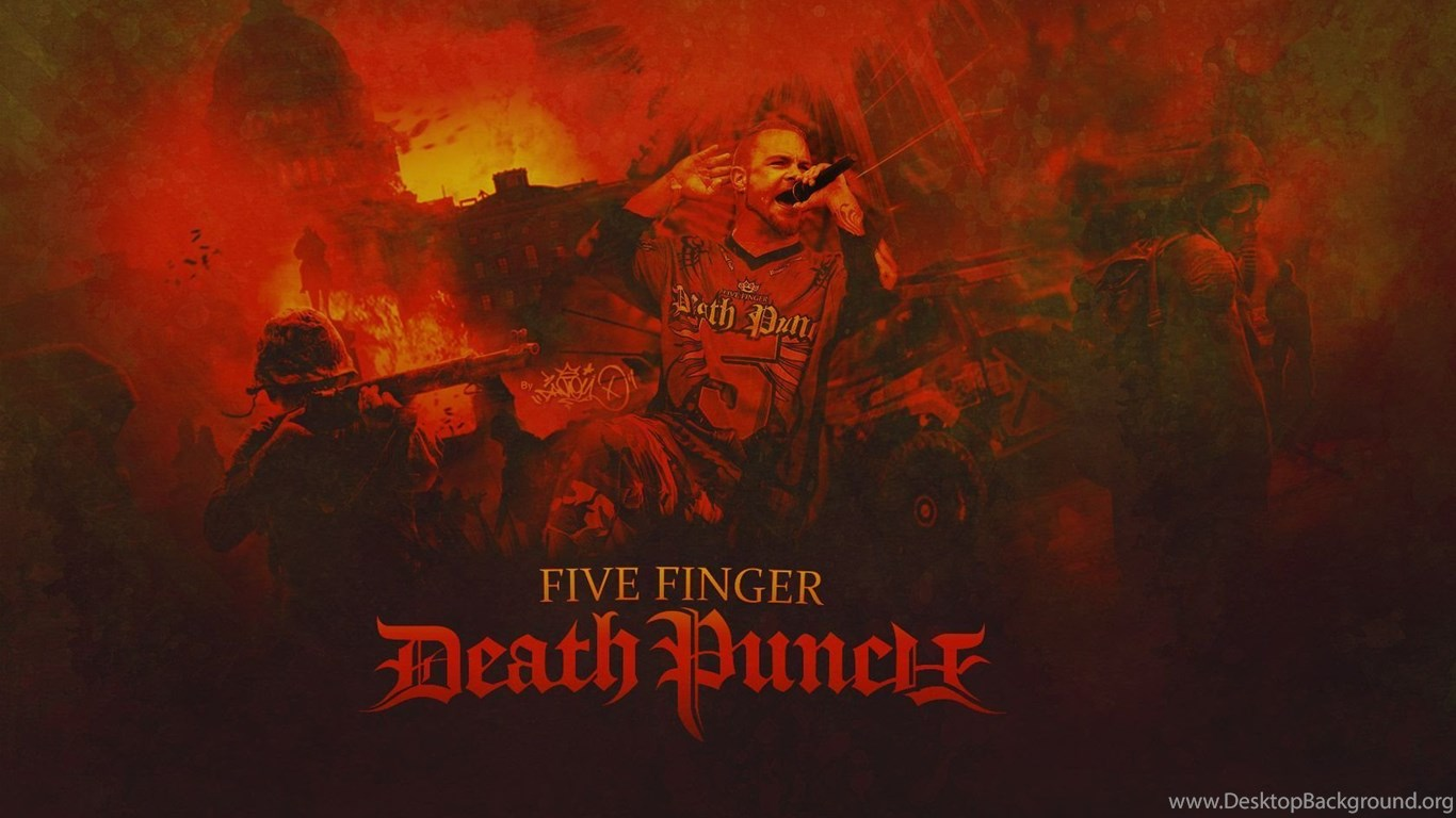 Top Five Finger Death Punch Wallpaper Images For Pinterest Desktop