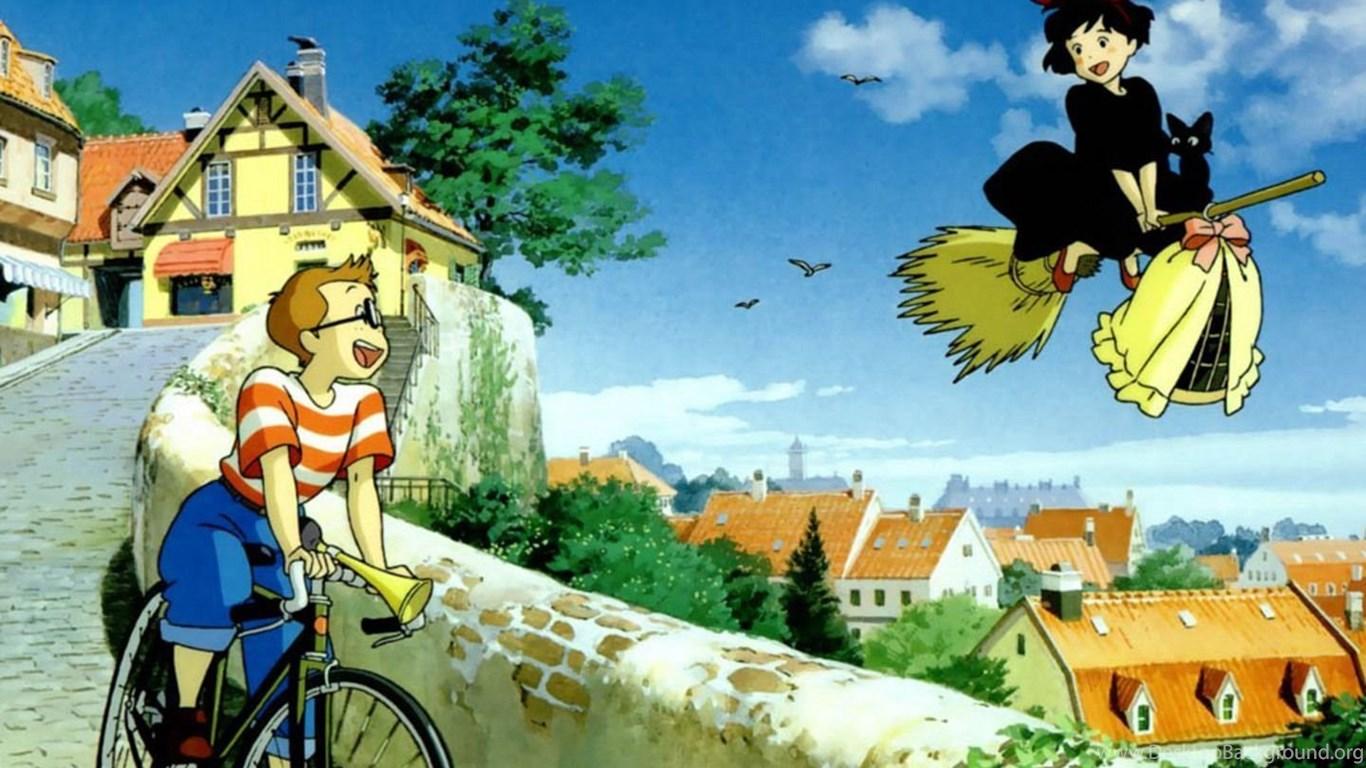 Hayao Miyazaki Kiki S Delivery Service Desktop Background