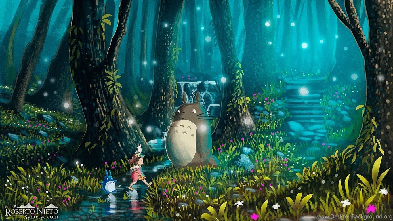 My Neighbor Totoro Wallpapers Desktop Background