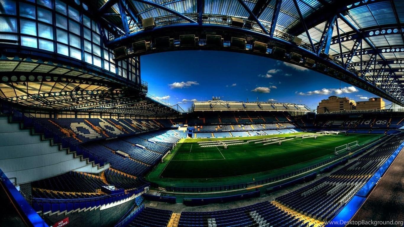 The Blues Chelsea Stadion Desktop Background