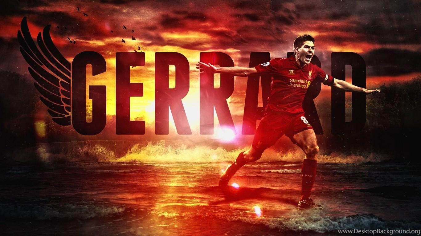 Steven Gerrard Liverpool Wallpapers Hd Desktop Background