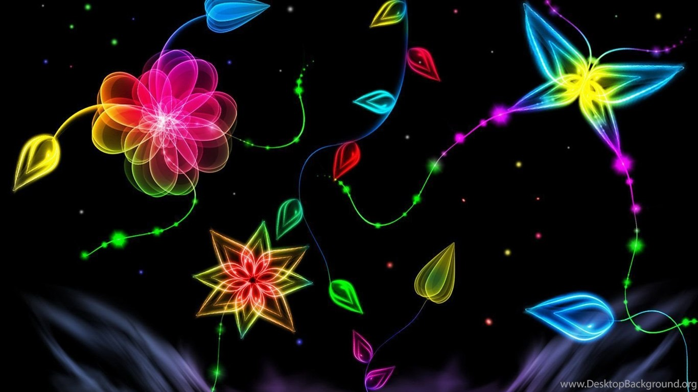 Top Cool Colorful Neon Backgrounds Design Images For Pinterest Desktop Background