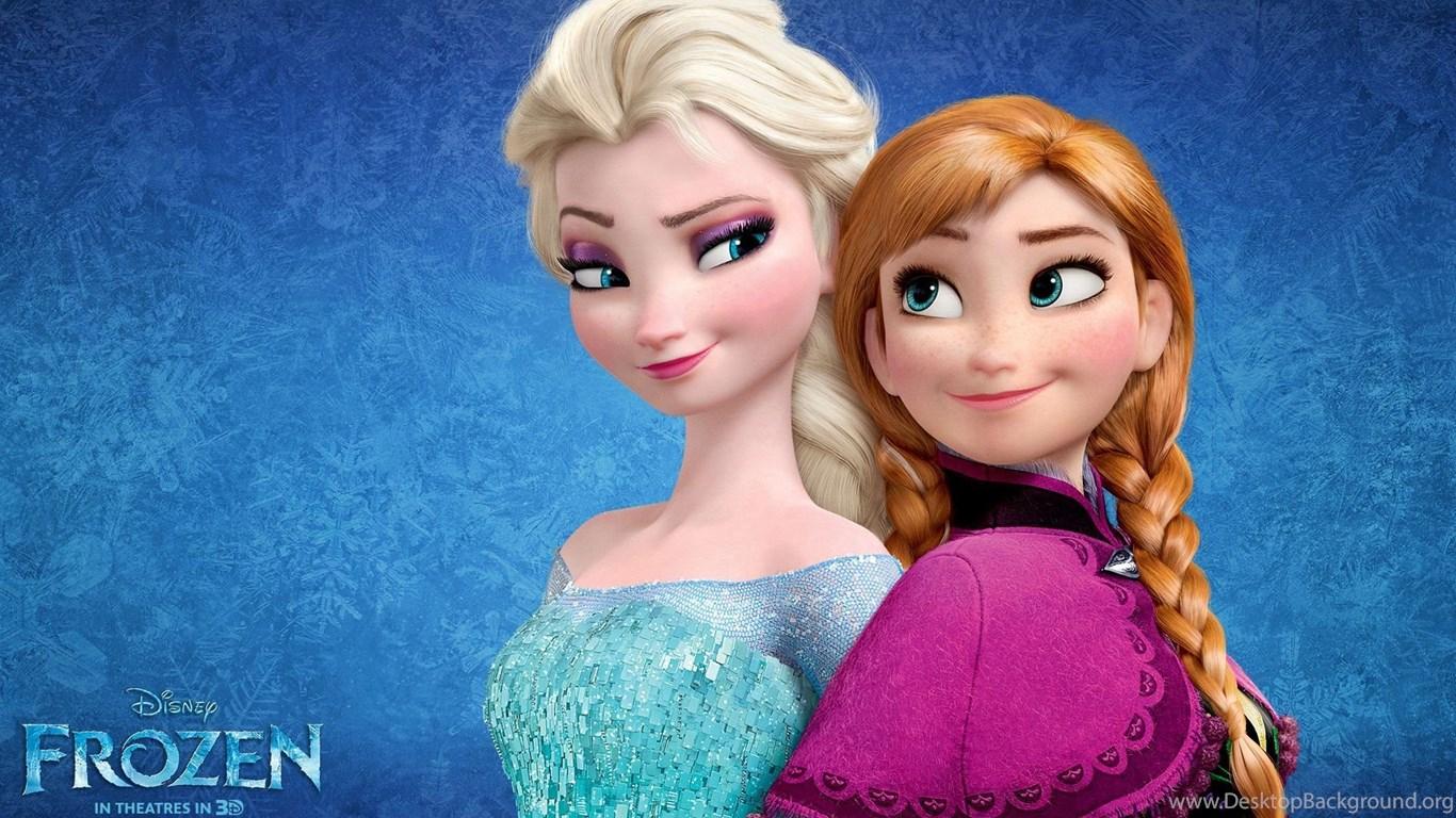 Frozen Movie Anna Elsa Hd Wallpaper1g Desktop Background