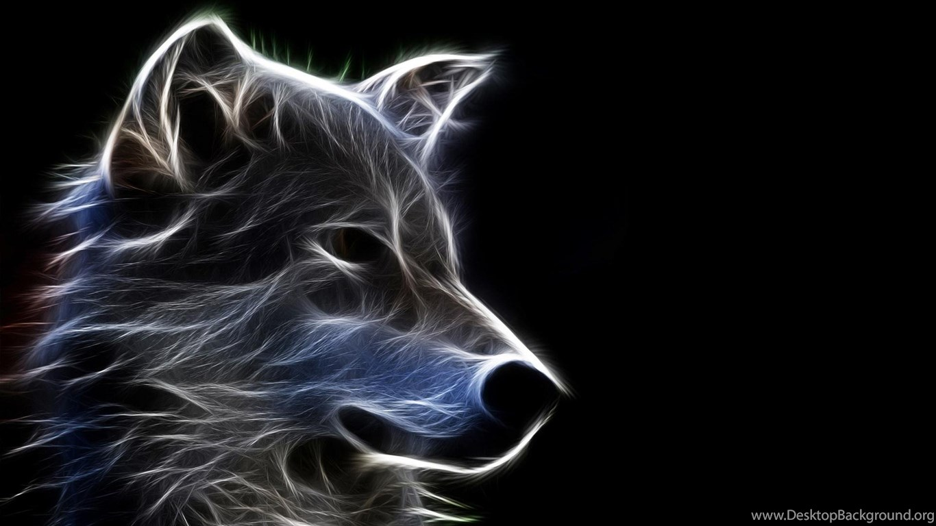Abstract Wolf Art Wallpapers Desktop Background