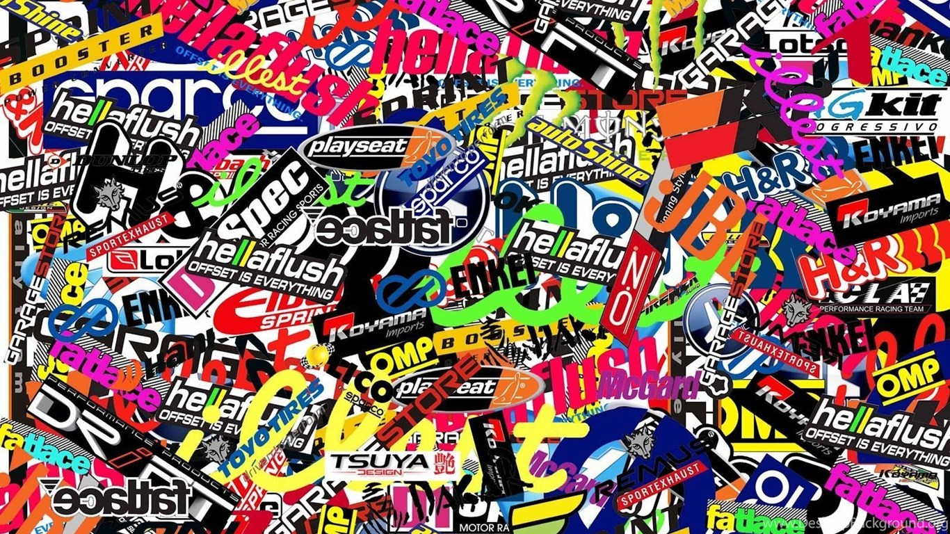 Wallpapers Sticker Bomb Trololo Blogg Stickers Quotes 1600x1440