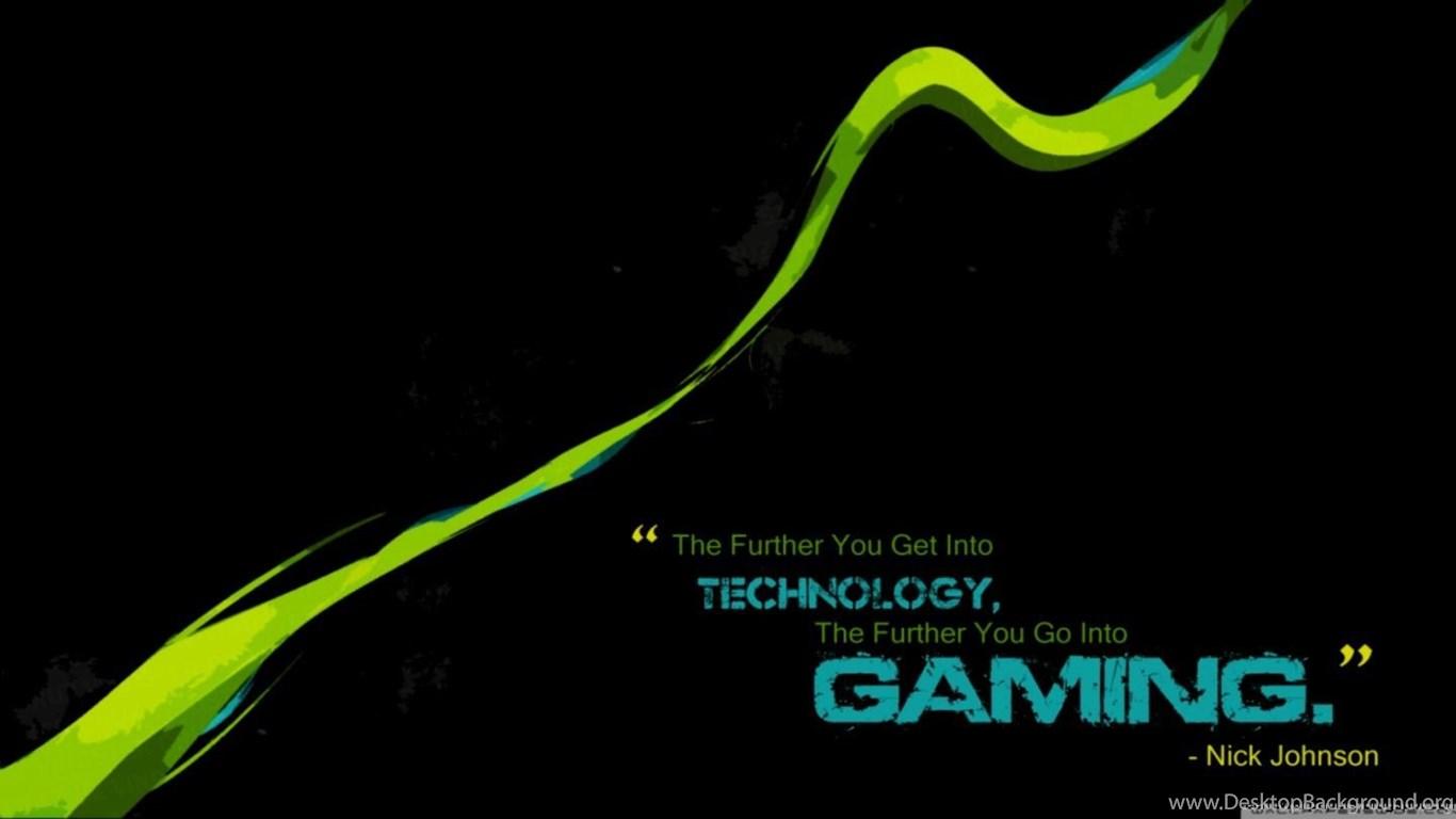 Gamer Quote Hd Wallpapers Desktop Background