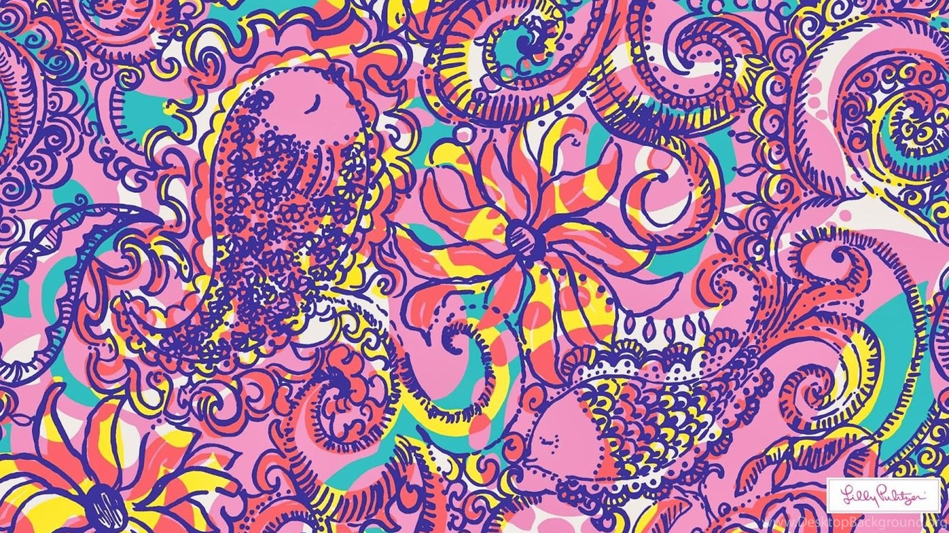 Download Lilly Pulitzer Anchor Wallpapers HD Desktop ...
