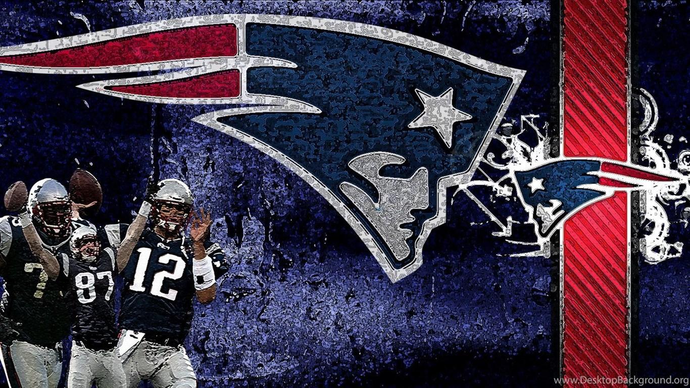 New England Patriots Logo HD Wallpapernine.com Desktop