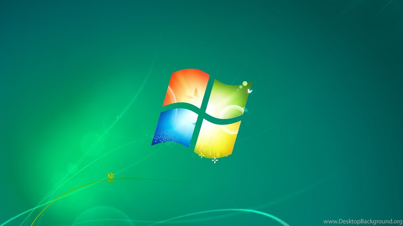 Windows 7 Default Wallpapers Green Version By Dominichulme On