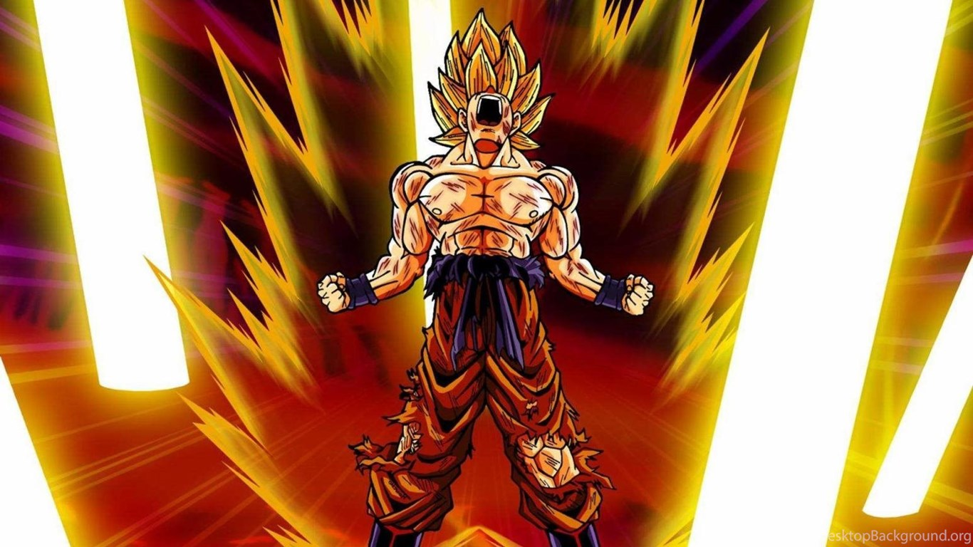 Goku Super Saiyan Dragon Ball Z Wallpapers Download