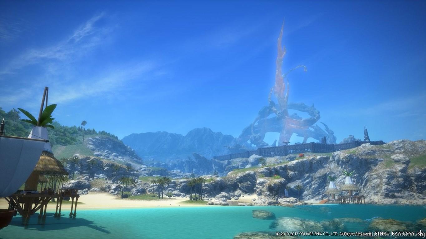 Final Fantasy XIV A Realm Reborn Impressions Desktop Background