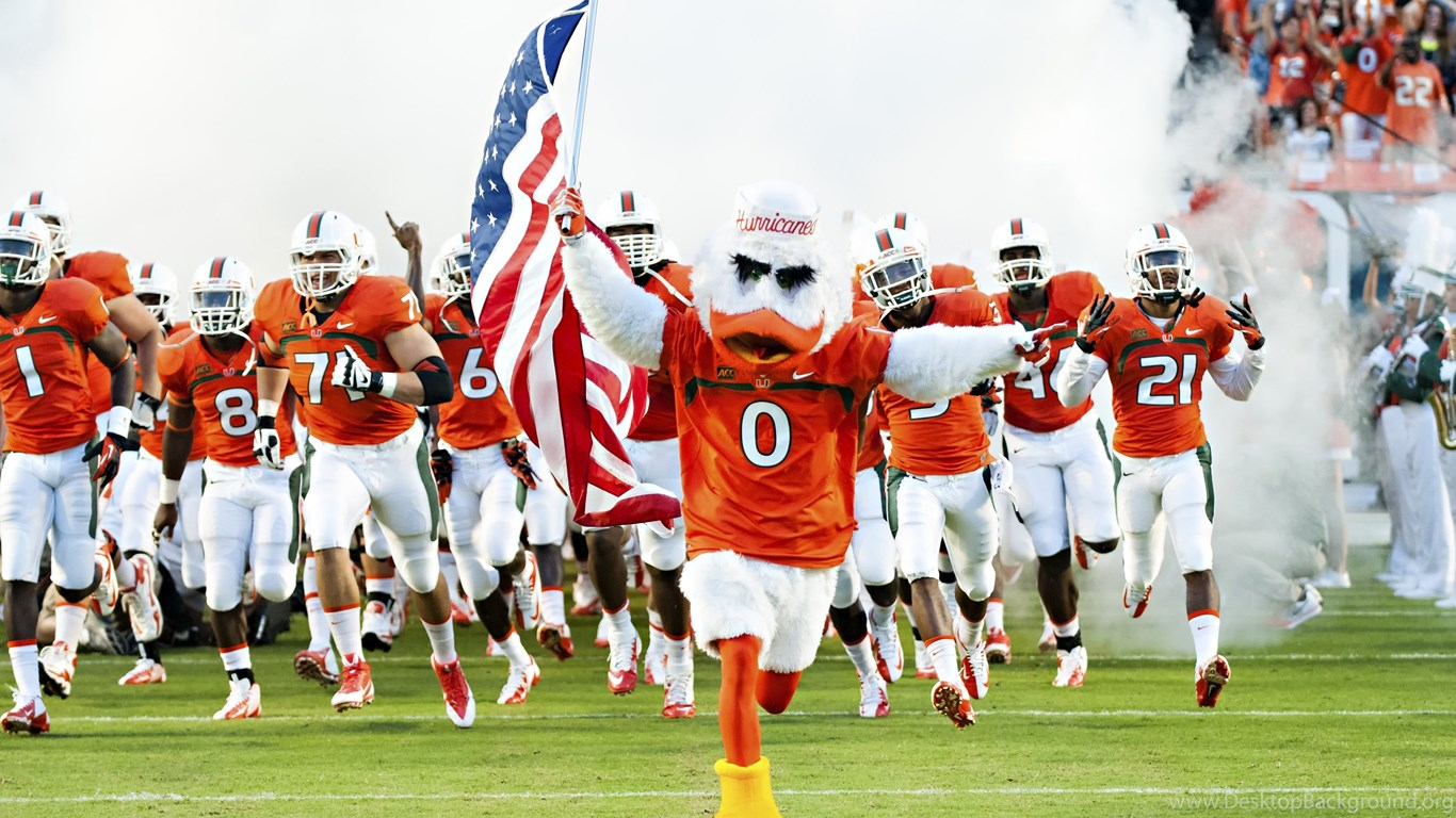 Miami hurricanes college football wallpapers desktop background - University of miami wallpaper hd ...