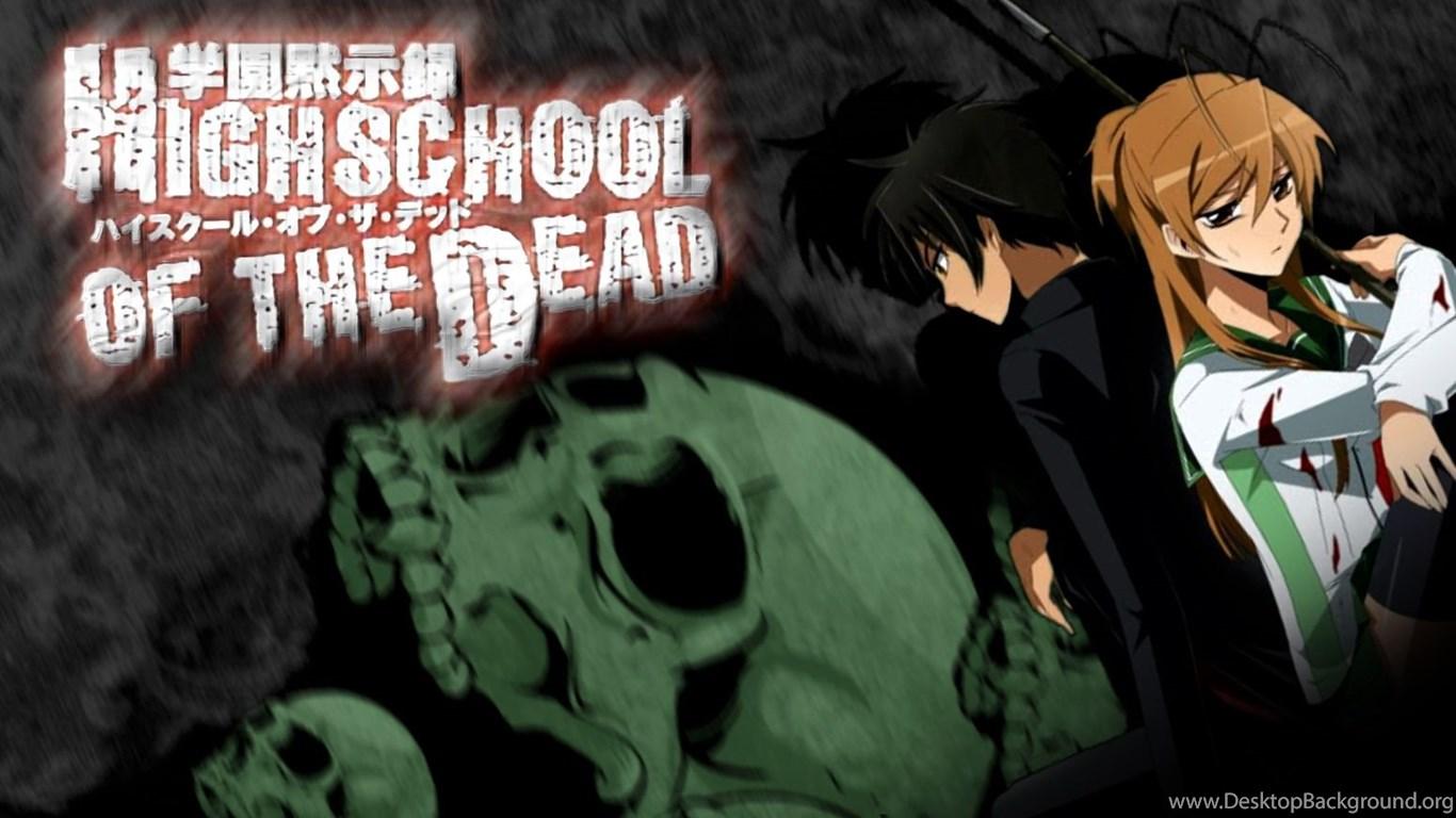 Highschool Of The Dead Wallpapers By Ur 31 On Deviantart Desktop
