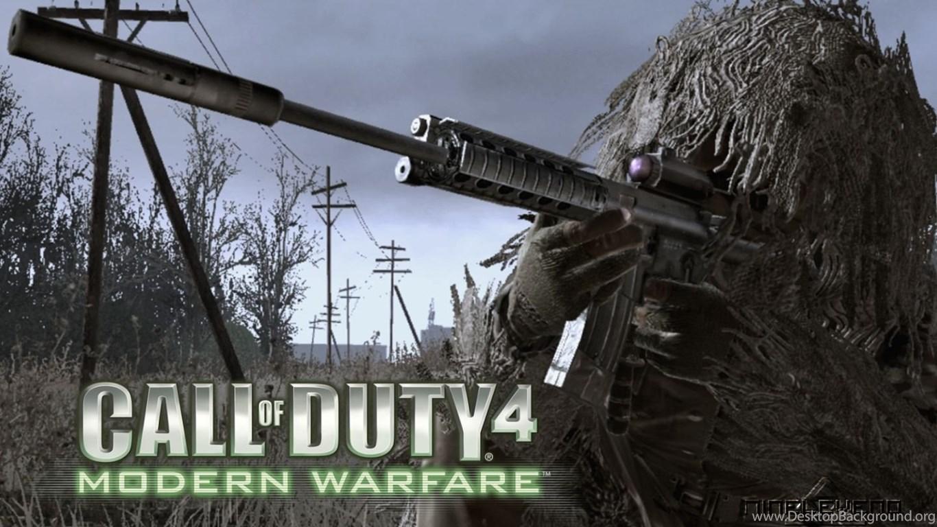 Call Of Duty 4 Modern Warfare Wallpapers Desktop Background