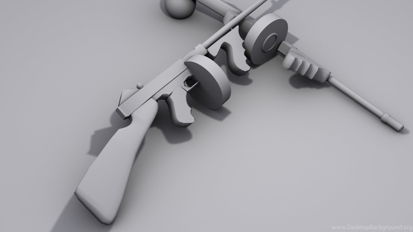 Tommy Gun Render Image The Fifties Mod For Half Life 2 Mod