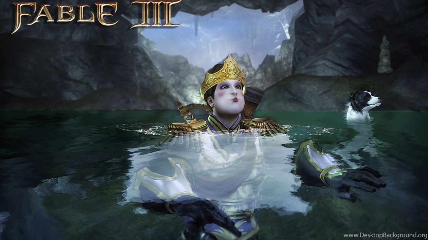 Hero In The Bath Wallpapers Fable 3 Wallpapers Pictures Free